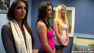 Brittney Banxxx And Two Hotties At A Hot Audition