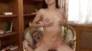 Naughty Ugly Granny Fucks Pretty Teen