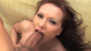 Katja Kassin Shows Her Awesome Deepthroat Skill