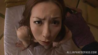 Japanese Mature Lady Pleases Her Man