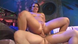 Katja Goes Wild On A Hard Rod