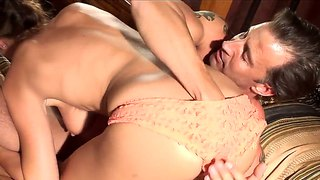 Hotel Sin Scene With Pornstar Elexis Monroe And Tony De Sergio.