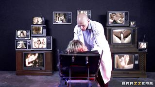 Blonde Patient Made To Watch Porn At Doctors Office