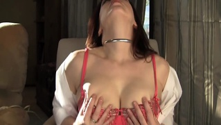 Spunky Teen With Big Tits Has Intense Orgasm