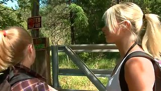 Anikka Albrite And Penny Is Captured By James' Dick