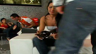 Natalie Colt And Petra Relax With Two Men