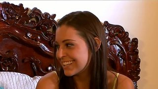 Gracie Glam And Sinn Sage Talk In Lingerie