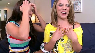 Gracie Glam,kristina Rose And Mercedes Lynn Play