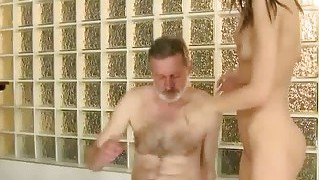 Lucky Old Man Fucking Pretty Teen
