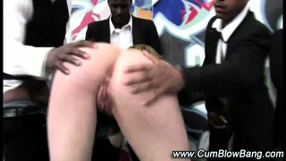 Interracial Whore Gangbang Bj