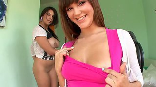 Mike Adriano Ass Fucks Two Busty Hotties