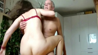 Hard Bunette Self Gemaak Amateur