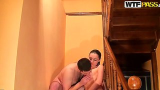 Amateur Chick With Long Legs Gets Hammered By Her Boyfriend