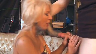 Lusty Blonde Milf Isabella Rossa Seduces Her Neighbour Mac Turner And Gives Him A Ride On The Couch