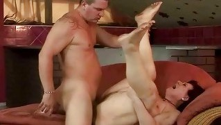 Fat Grandma Gets Fucked Rough