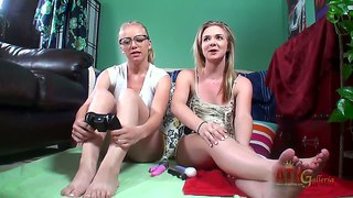 Mandylou Behind The Scenes Movie. Two Girlfriends Spend Time Together.