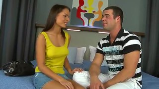 Hot Chick In Nice Panties Will Fucks With Martin Gun