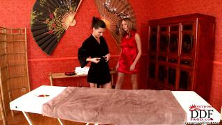 Massage With Amy & Eve Angel