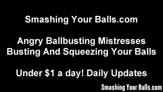 Ballbusting In The Balls By Carmen