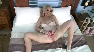 Pale Bodied Katie Kay Loves To In The Doggystyle Pose