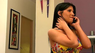 Angelina Valentine Shows Who Is In Sexual Charge