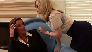 Nina Hartley And Rachel Steele As Hot Dykes