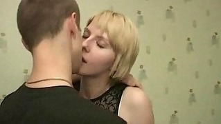 Deep Banging With Teen Couple