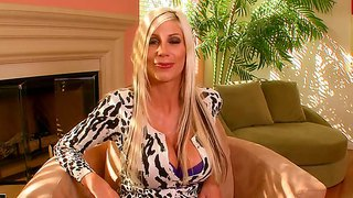 Bewitching Puma Swede Is Giving A Sensual Interview, Where She Shows How To Suck A Lovely Foot