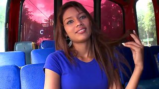 Liz Paola Is Seduced By Strangers On A Bus