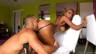 Katia De Lys And Nacho Vidal In Passionate Hardcore Action