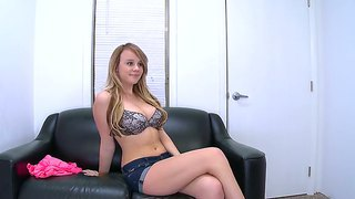 Alexis Adams Stunnes With Her Amazingly Hot Body While Attending To Porn Casting