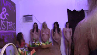 Amateur Teens At Dildo Strapon Party Initiation