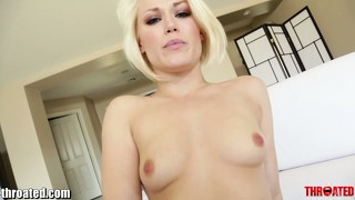 Throated Ash Hollywoods Hardcore Gagging