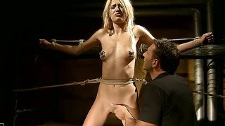 Crazy And Wild Bdsm Scene With A Skinny And Passionate Babe Named Blanche