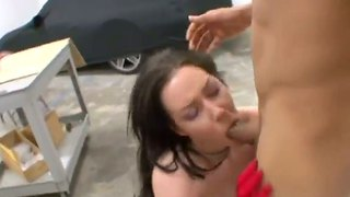 Audrey Elson Prefers To Make Deepthroat And Eat Cum
