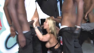 Black Cock Gang Bang Blowjobs Bukkake
