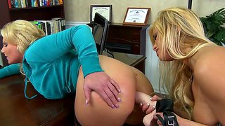 Doctor Shyla Stylez Uses Her Own Methods Of Treatment With Mark Ashley And Phoenix Marie