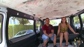 Tiffany Gets Really Horny After Being Seduced Into Riding With The Bang Bus