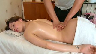 Kani Wants This Handsome Masseur To Massage Her Most Sensitive Part Of The Body