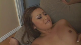 Tia Tanaka Gobbling Dick And Taking It Hard
