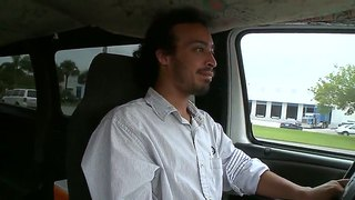 wonderful blonde chick madison foxx and her boyfriend got picked up from parking lot and paid 2