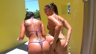 Ava Addams And Miss Raquel Pose In Bikinis