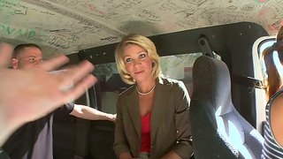 Rich Middle-Aged Slut Gets On Bang Bus