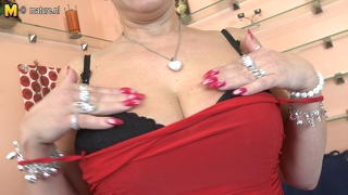 Naughty Big Boobed Mature Mother Getting Wet