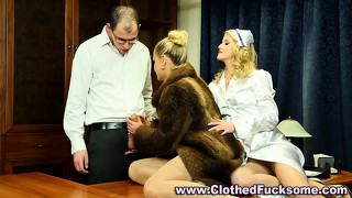 razzers network threesome office