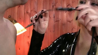 Dominant Kvinna Bdsm Strap-On-Dildo Slyna