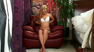Hailey Holiday Demonstrates Her Nice Breasts