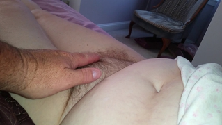 Wifes Sexy Feet & Soft Hairy Pussy