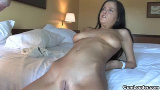 Brunette Russian Teen Candy Alexa Pounded Hardcore
