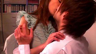 Hot Fucking Fun In The College With Asian Arisa Sawa!